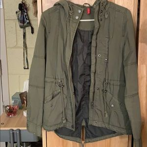 Divided H&M army green jacket